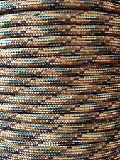 Multicam 550 Paracord Mil Spec Type III 7 strand parachute cord 100' USA Made