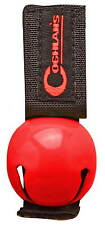 BEAR BELL RED INCLUDES SILENCER, REPELS MANY UNWANTED PREDITORS, KEEP SAFE!