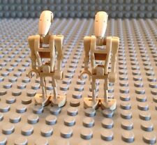 Lego Lot Of 2 Battle Droids /Mini- Figure / Clone Wars / Build / Imperial Army /