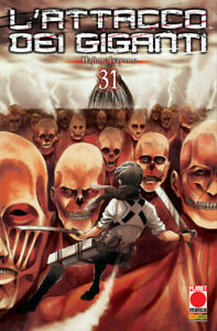 L'Attacco dei Giganti N° 31 - Planet Manga - ITALIANO NUOVO #MYCOMICS