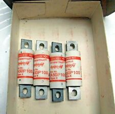 Lot Of 4 A50P100 Fuses