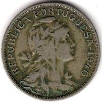 1940 Portugal 50 Centavos | Pennies2Pounds