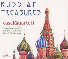 RUSSIAN TREASURES: TITZ, GLAZUNOV, TCHAIKOVSKY   CD NEU