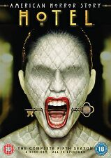 AMERICAN HORROR STORY HOTEL Complete Series 5 DVD All Episodes Fifth Season UK