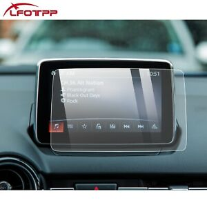 """LFOTPP Car Touchscreen Protector Tempered Glass Film 7"""" For 2018-2021 Mazda MX-5"""