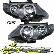 HEADLIGHTS PAIR SUIT FG FALCON FORD XR6 XR8 HEADLAMPS HEAD LIGHTS LAMPS