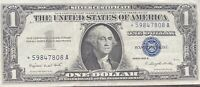 USA 1 Dollar 1957 A Silver Certificate One Banknote STAR NOTE Schein #22008