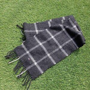 Tommy hilfiger scarf 100% wool Tartan scarf