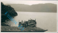 Car Ferry At Stromeferry Loch Carron Cars Loaded on in 1939