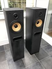 B&W P4 100W Bowers and Wilkins Floor Standing Speakers Audiophile England Made