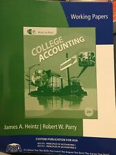 Study Guide - College Accounting - Chapters 1-9 by Robert W. Parry and James A.