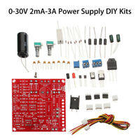 0-30V 2mA-3A Continuously Adjustable Regulated Power Supply DIY Welding Kit
