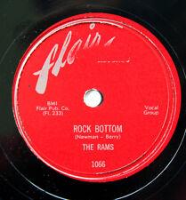 HEAR Rams 78 Rock Bottom/Sweet Thing FLAIR 1066 R&B doo wop E- CLEAN