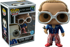 Exclusive Elton John Glitter Funko Pop Vinyl New in Box