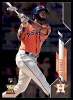 2020 Topps Chrome Base #200 Yordan Alvarez RC - Houston Astros