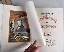 STENDHAL ABBESSE de CASTRO 1930 illustr MALASSI 80ex SUITE
