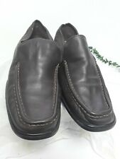 Mens Brown Leather Shoes Loafers Urbanmoc Size Euro 44 Uk 10