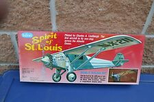 GUILLOWS 1/16th SCALE WOODEN & PLASTIC SPIRIT OF ST LOUIS MODEL KIT # 807 NIB