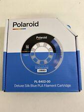 Polaroid PL-8402-00 Deluxe Seda Azul Pla filamento Cartucho Nuevo