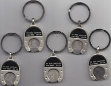 STAINLESS STEEL SHOPPING TROLLEY COIN, TOKEN,  HOLDER