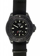 MWC GMT Dual Timezone Military PVD Quartz 300M Divers Watch  NEW BOX