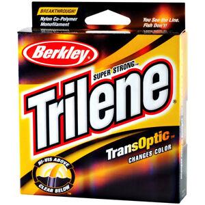 Berkley Trilene TransOptic Fishing Line (220 yds) - Clear/Gold