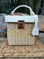 White Cane Bag
