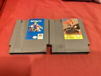 Lot 2 NES Nintendo Games PAPERBOY CONFLICT.