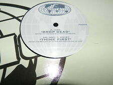 AMC – Drop Dead / Think First  NEW 12 inch 2008 Pandemic Records