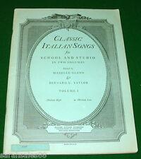 Classic Italian Songs Book © 1936 Giacomo Carissimi, Caro Mio Ben, Antonio Lotti