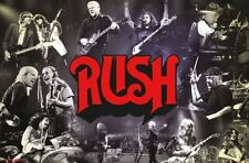 Rush - Through The Years Classic Rock Music Official Group Wall Poster