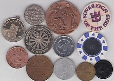 12 VARIOUS OLD COMMEMORATIVE MEDALS AVERAGE VERY FINE