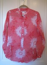 NEW Womens, PAUL & JOE SISTER, Melon PINK Cotton TUNIC Shirt, Size 1, UK10, US6