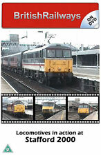 Locomotives in action at Stafford 2000 | West Coast Main Line | Railway DVD