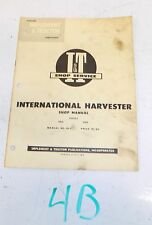 IH-9 I&T Shop Service Manual International Harvester 100 and 200 Tractor