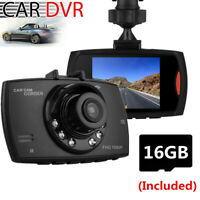 2.4'' LCD Car Camera DVR Video Recorder Vehicle Camcorder  Dash Cam With SD Card