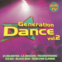 Compilation ‎CD Génération Dance Vol.2 - France (M/VG+)