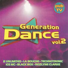 Compilation CD Génération Dance Vol.2 - France (M/VG+)