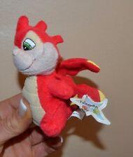 2004 McDonald's Neopets Red Scorchio Dinosaur Plush