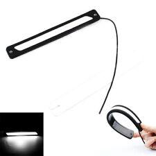 Pro LED Strip DRL Daytime Running Light Car Fog Day Driving Lamp & Lights Black
