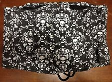 Steel-boned Underbust VICTORIAN COSPLAY GOTHIC DAMASK SULLS  CORSET 3X 38-39