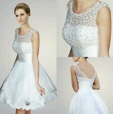 Lace Unbranded Strapless Wedding Dresses