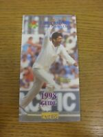 1998 Cricket: Lancashire County Cricket Club - Members Guide. If this item has a