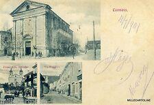 CORMONS  1901 -  Chiesa delle monache, via Maggiore