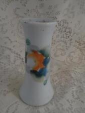 Vntg~Antq Hand-Painted Nippon Porcelain Vanity Dresser Hat Pin Holder Stand