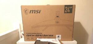 MSI OPTIX G241VC 23.6 inch Widescreen Curved LED Monitor - Black