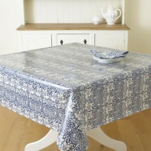 William Morris Brother Rabbit Pvc/Oilcloth Floral Tablecloth Fabric ByHalf Metre