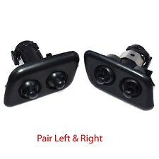 Pair LEFT & RGITH Headlight Washer Nozzles For BMW E39 525i 528i 530i 540i M5