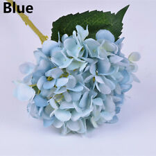 Fake Silk Flowers Bouquet Artificial Hydrangea Wedding Bridal Party Home Decor