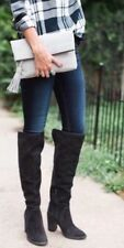 Vince Camuto 'Melaya' Charcoal Gray Suede Over The Knee Boots ~ Size US 9